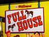 Full House (scottamus) Tags: pinball machine game table arcade backglass backbox translite art artwork graphics design fullhouse williams 1966