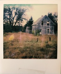 A Home Missing a Family (jillybeanmi) Tags: uppermichigan impossibleproject roidweek roidweek18 instant film impossible polaroid