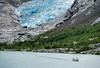 The magical blue colors of the Nigardsbreen I (Fr@nk ) Tags: norge norway travel breen glacier mountains ice blueice frnk 2017 nigardsbrevatnet lake nigardsbreen jostedalsbreen icecaves explorenorway blog fjord beauty people travellers boat water clima climatechange climate co2
