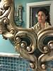 142 deep dark truthful mirror (dogfaceboy) Tags: 20fuquinayteen 2018 fuquinay selfportrait bathroom mirror bathroommirror dye hair hairdye