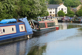 Moored in time for tea