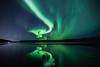 Reflecting (Valeria Sig) Tags: þingvellir iceland aurora reflection sky lake