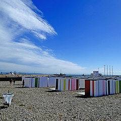 Le Havre, France (pom'.) Tags: panasonicdmctz101 may 2018 lehavre seinemaritime 76 normandie france europeanunion beach sky clouds sea 100 200 5000 300