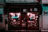 Istanbul (elsableda) Tags: night istanbul turkey turkiye neon fluorescent lights book shop window city midnight