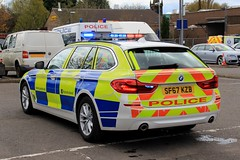 Police Scotland BMW 530d Touring Roads Policing Unit Traffic Car (PFB-999) Tags: police scotland ps new bmw 530d 5series touring estate roads unit rpu traffic car vehicle lightbar grilles fendoffs leds sf67kzb
