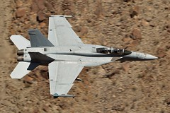 TRIPLESTICKS (Dafydd RJ Phillips) Tags: vfa 122 vfa122 flying eagles f18 hornet super lemoore nas station air naval us navy usa united states america panamint valley star wars canyon rainbow jedi transition sidewinder low level military aviation