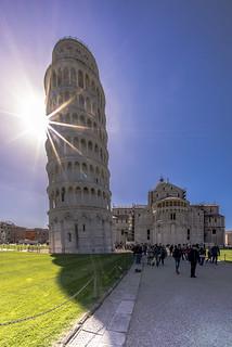 Il torre pendente di Pisa