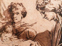 VAN DYCK Antoon - Mariage mystique de Sainte Catherine (drawing, dessin, disegno-Louvre RF660 - Detail 05 (L'art au présent) Tags: art painter peintre details détail détails detalles drawings dessins dessins17e 17thcenturydrawings louvre museum paris france dessinshollandais dutchdrawings dutchpainters peintreshollandais antoonvandyck antoon antoine anton bible naked nu bare nude virgin vierge catherina mary marie maria figure figures personnes people man men homme femme women woman female jeunefemme youngwoman christ jésus jesus boy littleboy garçon enfant kid kids child children lavis wash santa
