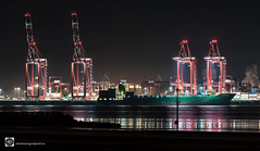 Cape Manila (alundisleyimages@gmail.com) Tags: shipping maritime liverpool sailing night longexposure imports exports cranes goods industriallandscape reflections ports harbours containers loading lowtide tides groyen seadefence weather england uk northwest river water stars outdoors