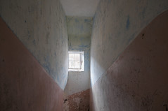 Stairwell, Old Town (James_at_Slack) Tags: aberdeenshire abandoned derelict decayed rural ruraldecay ruralexploration shapes window scotland jamesdyasdavidson