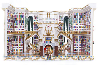 Beauty and the Beast Library1 by Sarah von Innerebner