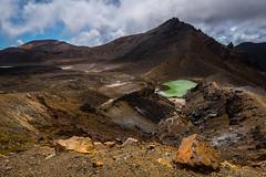 Mordor (Nikhil Ramnarine) Tags: newzealand northisland tongariro tongarirocrossing alpinecrossing crater emeraldlake rocks steaments clouds mountains volcanic volcano