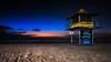 Sunrise on the Gold Coast (RissaJT_23) Tags: goldcoast broadbeach queensland lifeguardtower tower28 beach sunrise morning borobi commonwealthgames canon5dmarkiv canon1740mm sand water lifeguard