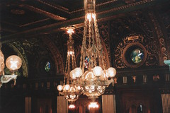Pennsylvania State Capitol  - Harrisburg Pennsylvania  -   Senate Chambers (Onasill ~ Bill Badzo) Tags: attractionsite musrsee onasill arts beaux impressive guild walking tours glass stain downtown county scan photo vintage old gallery fixture light chambers senate capitol state pennsylvania pa harrisburg architecture ceiling room wood statecapitol nrhp historic landmark