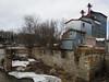 M & R Feeds, an old flour mill in Quyon, Quebec (Ullysses) Tags: flourmill quyon pontiac quebec canada spring printemps quyonriver mrfeeds moulinàfarine johnegan moulinabois history patrimoine ruins