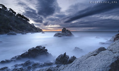 2018_03_31_cala frares (kbl phtogaphy) Tags: agua efectoseda salidadelsol albada mar costa naturaleza natura rocas nikon nikon5100 samyang samyang10mm