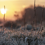 Sunrise on a cold day thumbnail