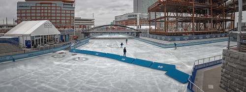The Ice at Canalside (Buffalo, New York)