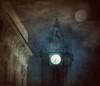 6.35 PM (vittorio.chiampan) Tags: fineart art night light moon belltower italy