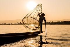 Myanmar 2018 - Inle Lake (ChiaraPoldina) Tags: myanmarimissyou♥️ holydays canon1855mm eos700d canon travel travelphotography myanmarculture myanmarfisherman fisherman inlelakemyanmar myanmarsunset sunset lake inlelake myanmar