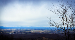 End of Winter in the Valley of Virginia