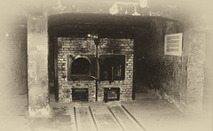 Auschwitz  Rebuilt Furnace 3 (eLaReF) Tags: auschwitz rebuilt furnace