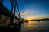 DSC01414 (Damir Govorcin Photography) Tags: pier walkway boats golden hour sunset sky clouds natural light wide angle water sea zeiss 1635mm sony a7rii watsons bay sydney jetty