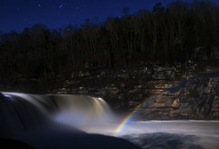 Moonbow (lightonthewater) Tags: moonbow cumberlandfalls waterfall rainbow water longexposure stars cumberlandfallsstatepark