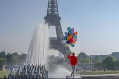 Blue Days in Paris (julialarrigue) Tags: paris eiffeltower art artist