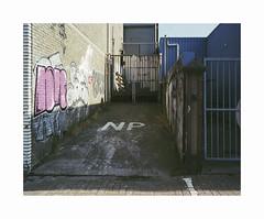 NP (ha*voc) Tags: mamiya7ii 65mm rangefinder film 120 mediumformat 6x7 fujipro400h urban urbanentropy amsterdamnoord mundane banal empty silence