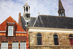 Eglise chrétienne, Havenplein, Zierikzee, Schouwen-Duiveland, Zeelande, Nederland (claude lina) Tags: claudelina nederland hollande paysbas zeeland zierikzee zeelande clocher