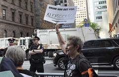 kleptocracy (greenelent) Tags: notrump protest demonstration riseandresist streets people activists nyc newyork