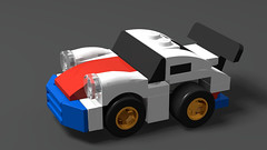 Raphael Granas 911 (DerLuckyy) Tags: 4wide porsche lego tiny turbo 911 rwb rsr car