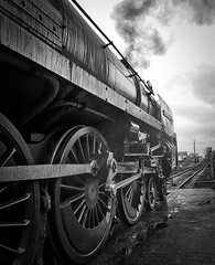 Great Central Railway Loughborough Leicestershire 4th April 2018 (loose_grip_99) Tags: great central railway railroad rail steam engine locomotive leicestershire eastmidlands england uk preservation transportation gassteam uksteam train trains railways britishrailways standard riddles pacific 462 70013 olivercromwell loughborough january 2018 gcr