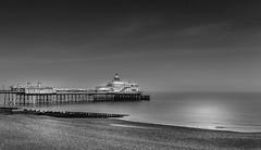 Eastbourne Pier / bw (rpffm58) Tags: contrast ciel air mono noiretblanc brey blackandwhite uk east sussex nikon sigma