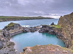 The Blue Lagoon (Ian Gedge) Tags: uk britain wales cymru pembrokeshire coast coastline sea rocks blue lagoon abereiddy
