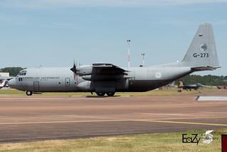 G-273 Royal Netherlands Air Force Lockheed C-130H Hercules
