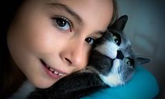 Portrait.. PSP**** (Isa****) Tags: portrait fille girl chat cat psp