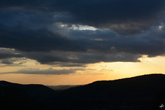 Mountain Silhouette (Theocharis Kalamaras) Tags: silhouette spring clouds cloudy sunset orange sky mountain mountainous mountainside arcadia arkadia greece hellas peloponnese peloponnisos gort gortynia discovergreece discovergortynia visitgreece tourism holidays hiking