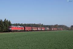 "232 241 ""DB"" mit Stahlzug - 18.04.2018 - Rohrsen (D) (Frederik L.) Tags: db bahn zug eisenbahn güterzug lok lokomotive baureihe 232 ludmilla bahnhof sommer"