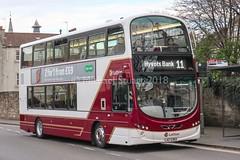 Lothian 1001 • LXZ 5383 (BG61 SXJ) (MichaelStuartEDI) Tags: edinburgh 2 gemini wright b9tl volvo towertransit 37978 vn37978 first bg61sxj lxz5383 1001 lothianbuses buses lothian