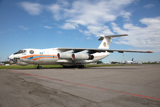 UP-I7604, Ilyushin Il-76TD Kazaviaspas @ Almaty ALA UAAA  (2)