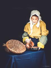 Melkmeisje (Gerrit Veldman) Tags: sailkampen melkmeisjevanvermeer mensen milkmaid kitchenmaid girl maid