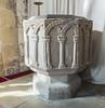 Bole (Notts), St Martin's church font (Jules & Jenny) Tags: bole nottinghamshire stmartinschurch font