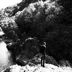 Une journée particulière... (woltarise) Tags: 15septembre2017 anniversaires ardèche thuyets rivière france frère concentration pensées nature ricohgr brother