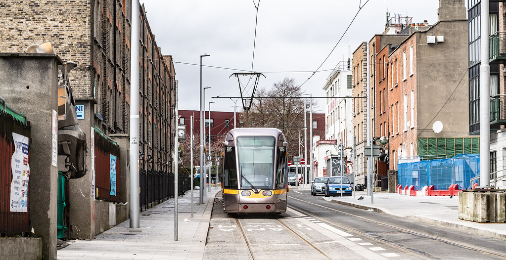 DOMINICK STREET DUBLIN [TRAMS AND TRACKS]-137842