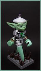 Yo Damann (Karf Oohlu) Tags: lego moc figure yoda sandgreen