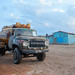 Truck bringing water in town, Awdal region, Zeila, Somaliland