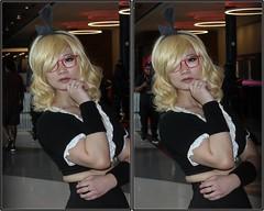 Anime Matsuri, George R. Brown Convention Center, Houston, Texas 2018.04.01 (fossilmike) Tags: houston texas animematsuri cosplay 3d crosseye