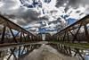 Sobre el Jarama (Jose_edit) Tags: madrid via antiguo viejo oxido mejorada bridge iron hierro puente aire libre arquitectura arco del campo spanien espagne 西班牙 spanje rio jarama parque regional sureste spania españa spange spain spagna